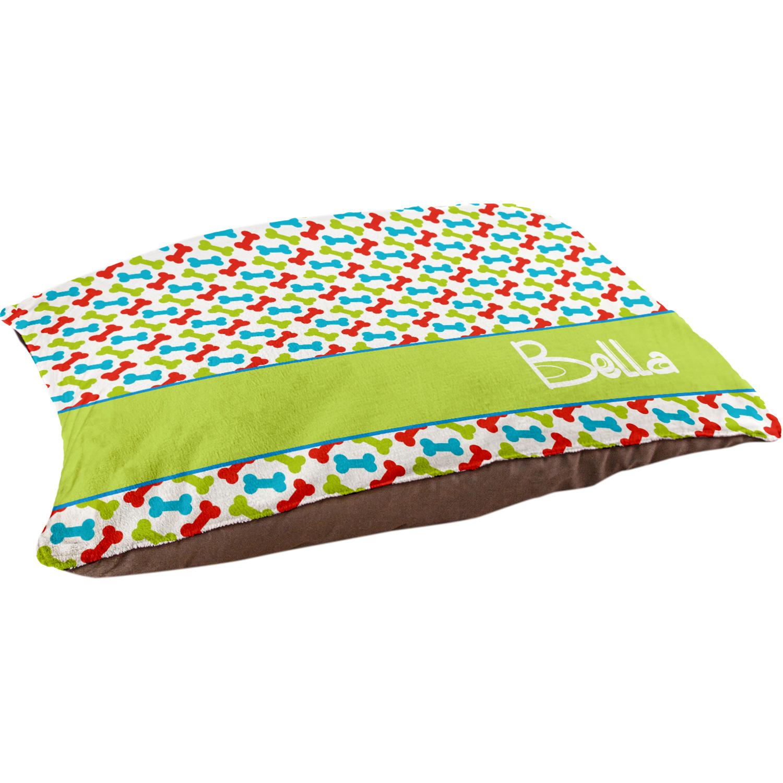 Bright Color Bones Pet Bed Custom Pet Pillows Personalized Dog Beds