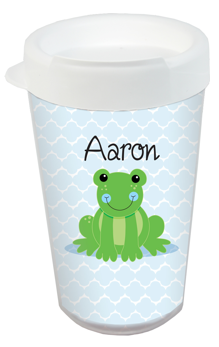 Froggy Plastic Tumbler Custom Printed Tumbler