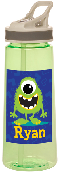 Personalized Monster Guy Water Bottle
