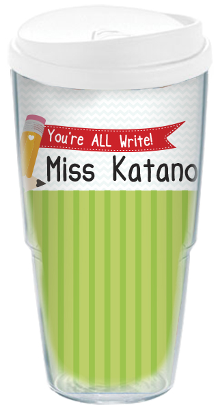 all write travel cup personalized travel cup custom travel mug