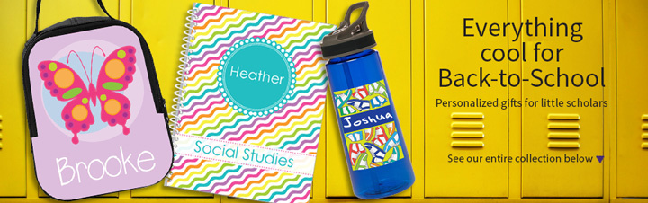 Personalized Back to School Gifts for Kids