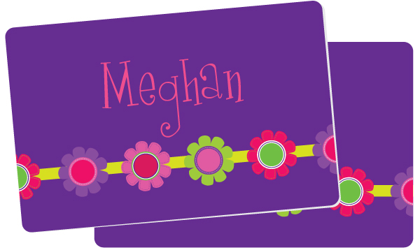 Personalized Bright Daisies Placemat