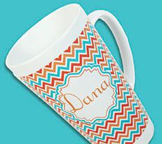 Chic personalized gifts for moms, hostess, family and friends