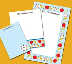 buy personalized stationery gifts for kids adults and teachers
