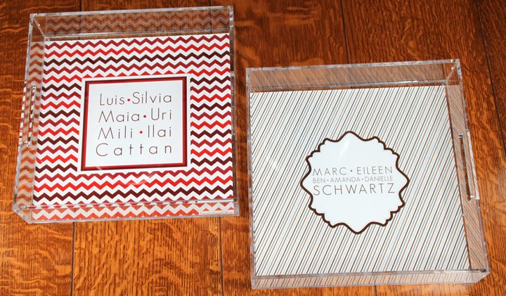 Personalized Acrylic Trays