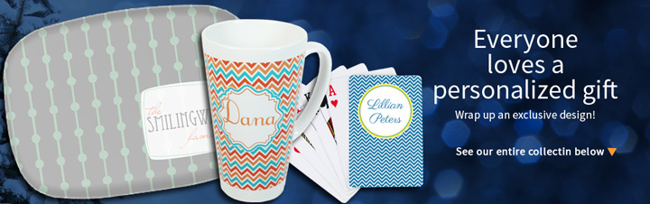 Personalized Gifts for Women and Hostesses