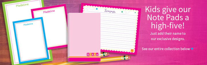 Custom Note Pads for Kids