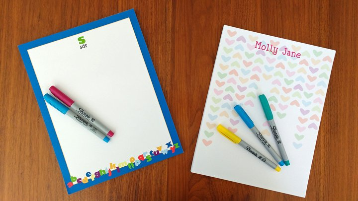 Unique Teacher Note Pads