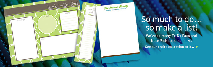Personalized Notepads for Adults