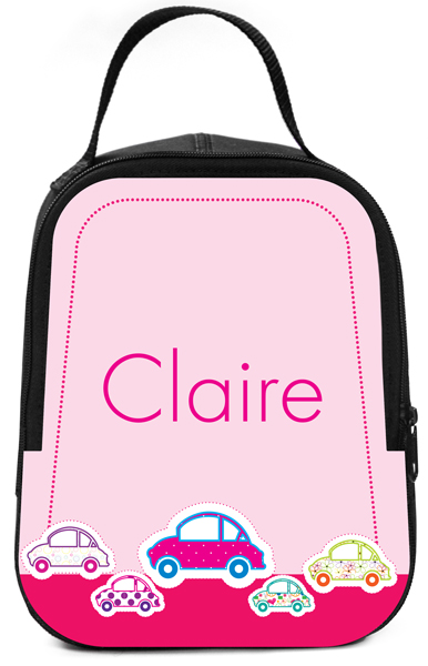 Personalized Vroom Vroom Lunch Box