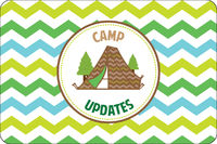 Tent Ready UNPERSONALIZED Camp Postcards