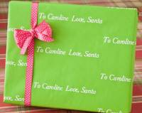 LA Lime Recycled Gift Wrap