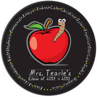 Apple for Teacher Plate