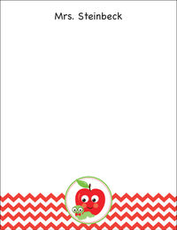 Apple Chevron I Large Notepad