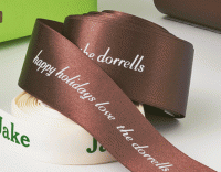 "1-1/2"" Satin Personalized Ribbons"