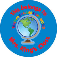 Teachers Change the World Gift Stickers