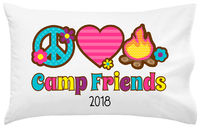 Peace Love Camp UNPERSONALIZED Pillowcase