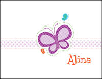 Dotted Butterfly Foldover Card