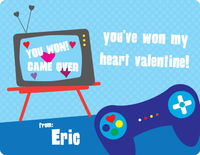 Controller Valentine's Card