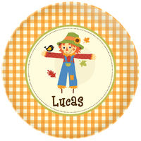 Scarecrow Plate