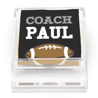 Coach Sports Sticky Note Holder
