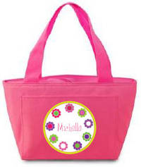 Bright Daisies Insulated Lunch Tote