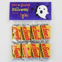 Ghostly Ghost Candy Bag Toppers