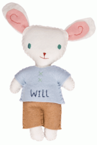 Rabbit Boy Stuffed Animal