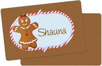 Gingerbread Placemat Girl
