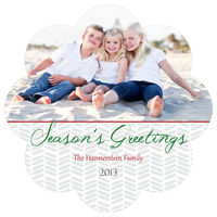 Joy of Season Die-Cut Card
