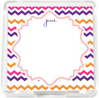 Having Fun Chevron Mini Memo Sheets