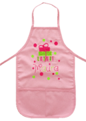 Presents Embroidered Apron