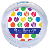 Dots of Kids Paperweight