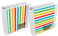 Ruler Stripes Binder Insert Set