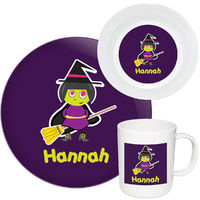Broomstick Witch II Melamine Set
