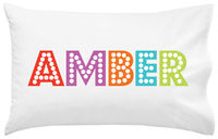 Broadway Letters Pillowcase