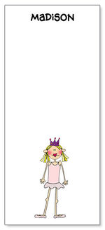 Custom Big Flat Note Card Vertical CBFC