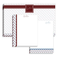Burgundy Dots Multi Pad Set