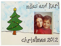 Green Christmas Tree Picture Frame SL10