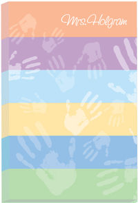 Colorful Hands I Notepad