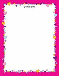 Candy Hearts Notepad