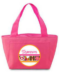 Retro Icons Insulated Lunch Tote