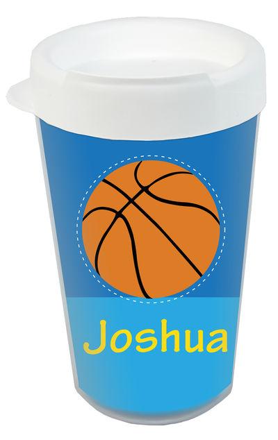 d98154e91d2 Basketball Plastic Tumbler | Custom Printed Tumbler| Personalized Cup