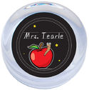 Apple For Teacher Paperweight
