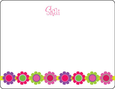 Bright Daisies Note Card