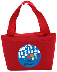 ABC123 Insulated Tote