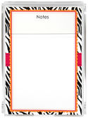 Hot Zebra Memo Sheets G&G