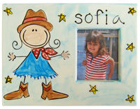 Cowgirl Picture Frame SL8G