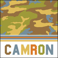 Camo Boy Gift Stickers