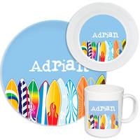 Cool Surfboards Melamine Set
